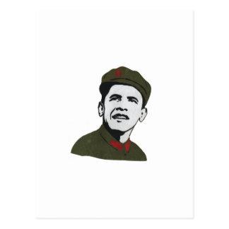 Obama como diseño de Che Guevara Tarjeta Postal