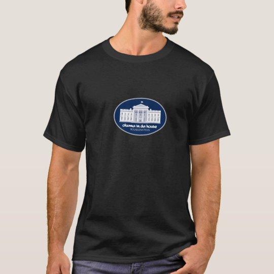 Obama en camiseta de la casa de DA