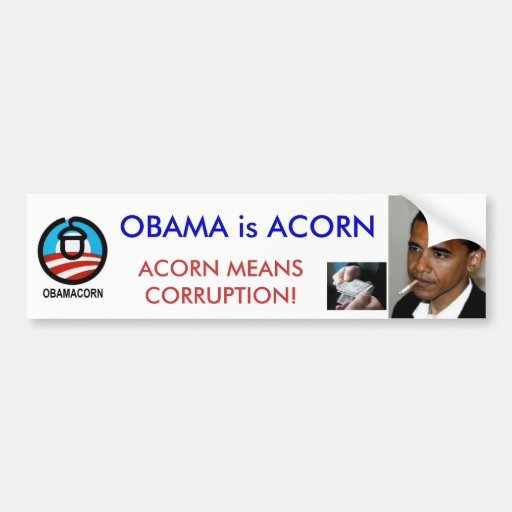 Obama chupa la pegatina para el parachoques
