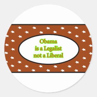 Obama es un jGibney de las estrellas de Brown del Etiqueta Redonda