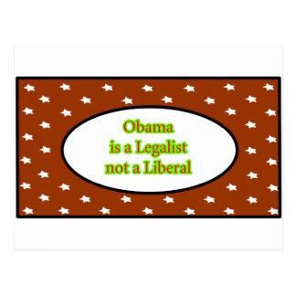 Obama es un jGibney de las estrellas de Brown del Tarjetas Postales