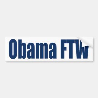 Obama FTW Pegatina Para Coche