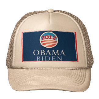 Obama/gorra 2012 de Biden