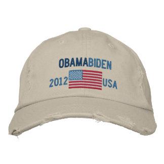 Obama/gorra de béisbol 2012 de Biden