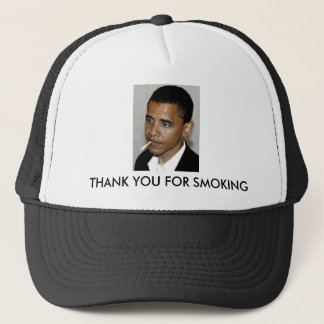 Obama, gracias por fumar gorra de camionero