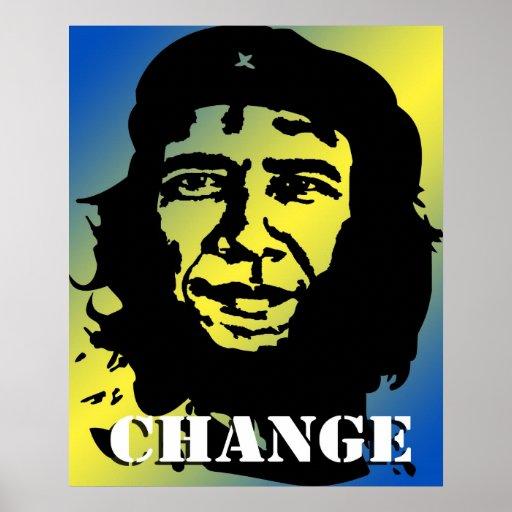 Obama Guevara Posters