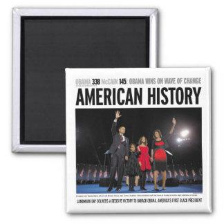 Obama: Imán americano de la historia