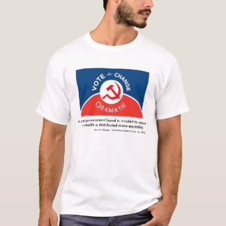 Obama para el cambio - para hombre camiseta