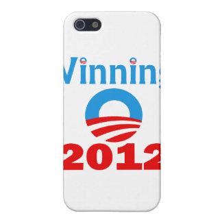 Obama que gana, 2012 iPhone 5 funda