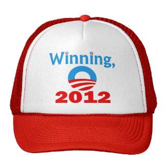 Obama que gana 2012 gorro
