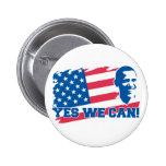 Obama que podemos abotonar sí pin