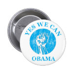 """Obama que podemos"" abotonar sí Pins"