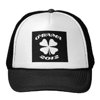 obama St Patrick 2012 2 Gorras