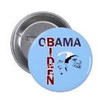 Obama y Biden '08 Pin