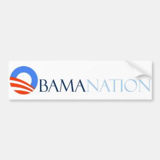 Obamanation Pegatina Para Coche
