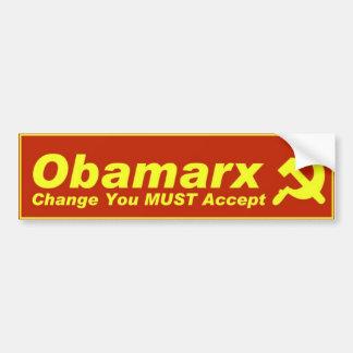 Obamarx Etiqueta De Parachoque