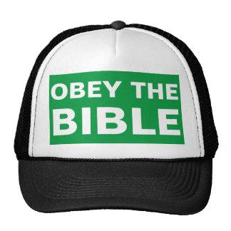 Obedezca el gorra de la predicación del evangelio