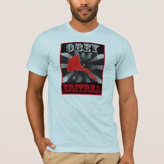Obedezca Eritrea Camiseta