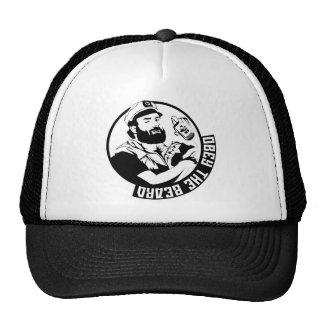 Obedezca la barba gorras de camionero