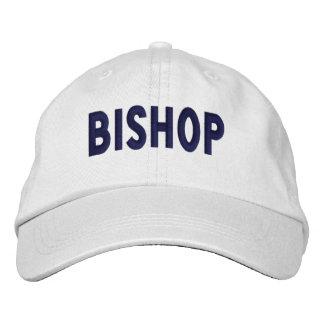 Obispo - casquillo gorra de beisbol bordada