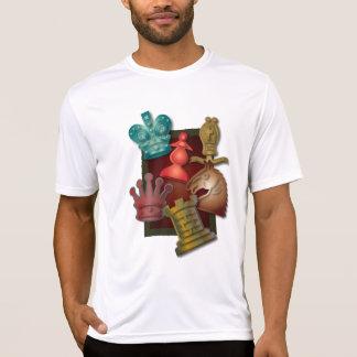 Obispo Pawn del caballero del rey reina del diseño Camiseta