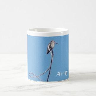 ¡Objetivo alto! Taza del estímulo del colibrí