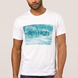 Objetivo alto. Visualice el sueño Camiseta