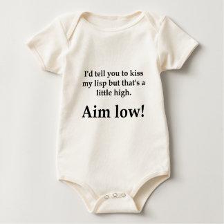 ¡Objetivo bajo! Body Para Bebé