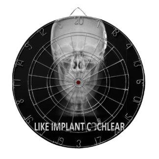 objetivo de radio cráneo tablero dardos