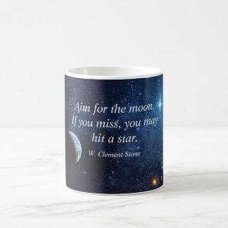 Objetivo para la taza de la luna