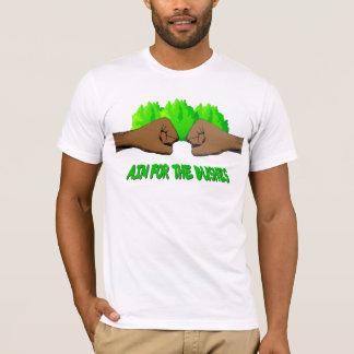 Objetivo para los arbustos camiseta