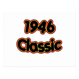 Obra clásica 1946 postal