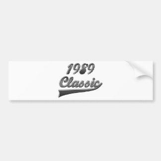 Obra clásica 1989 pegatina para coche