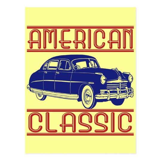 Obra clásica americana postal