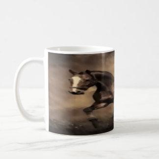 "obra clásica blanca 11"" diseño completo del abrigo taza de café"