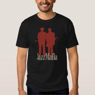 Obra clásica de la mafia del jazz camisas