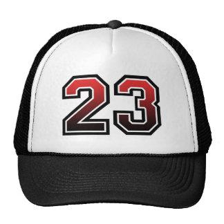 Obra clásica del número 23 gorras de camionero