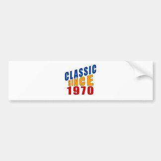 Obra clásica desde 1970 pegatina para coche