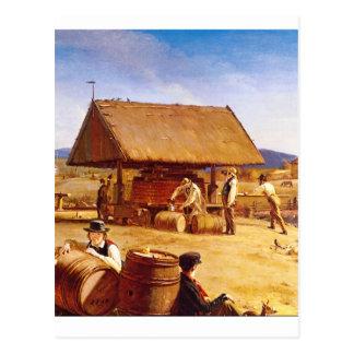 Obra de arte de la sidra Making', 1841_Great Postal