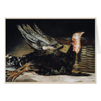 Obra maestra muerta de Turquía Francisco José de G Tarjeta Pequeña