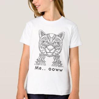 Observación del gato camiseta