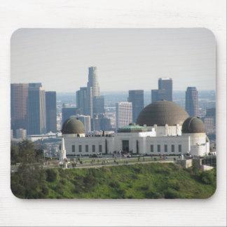 Observatorio de Griffith y Los Ángeles céntrico Alfombrilla De Ratones