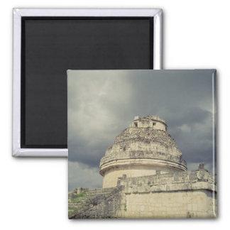 Observatorio maya del EL Caracol Imanes Para Frigoríficos