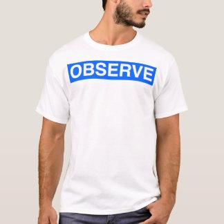 Observe la camiseta