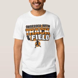Obsesionado con atletismo camiseta