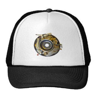 Obturador antiguo de la lente de cámara gorro