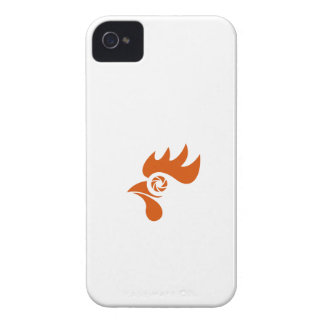 Obturador del ojo del gallo retro carcasa para iPhone 4 de Case-Mate
