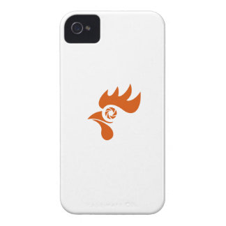 Obturador del ojo del gallo retro funda para iPhone 4