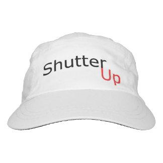 Obturador para arriba gorra de alto rendimiento