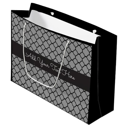 Ocasión multi marroquí elegante bolsa de regalo grande